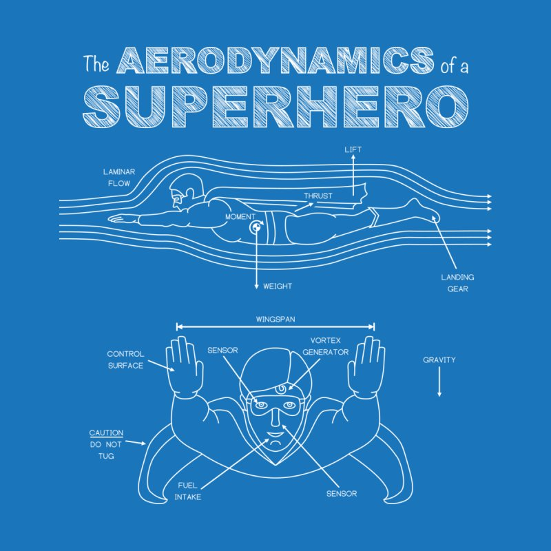The Aerodynamics of a Superhero by Robyriker Designs - Elishka Jepson