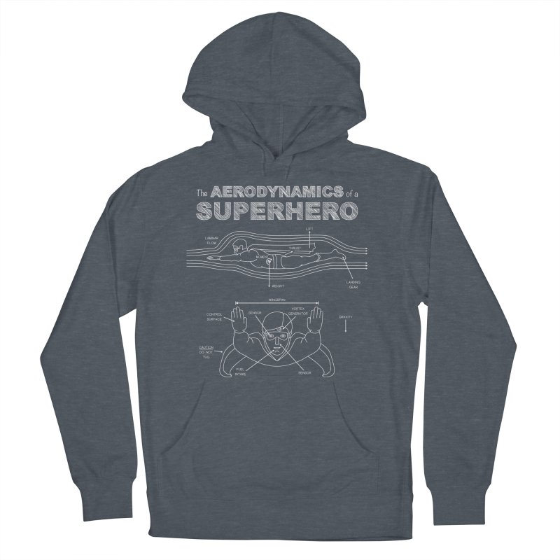 The Aerodynamics of a Superhero Women's Pullover Hoody by Robyriker Designs - Elishka Jepson