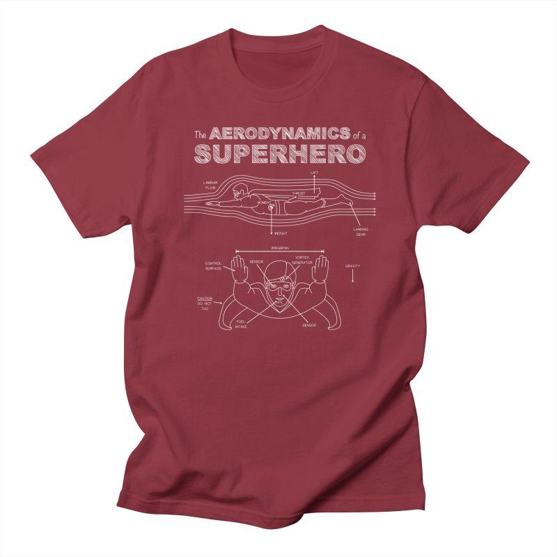 The Aerodynamics of a Superhero Women's Unisex T-Shirt by Robyriker Designs - Elishka Jepson