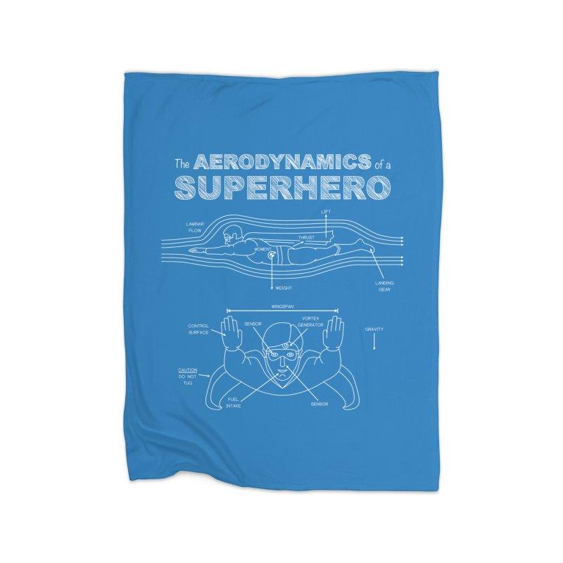 The Aerodynamics of a Superhero Home Blanket by Robyriker Designs - Elishka Jepson