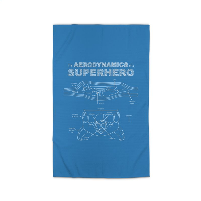 The Aerodynamics of a Superhero Home Rug by Robyriker Designs - Elishka Jepson