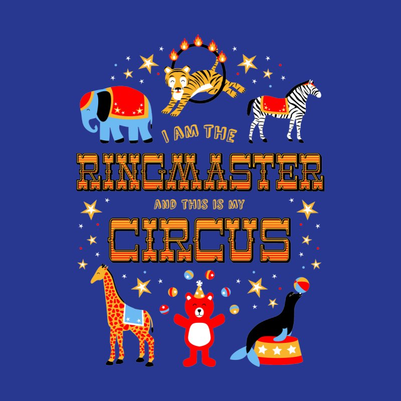 Ringmaster of the Circus by Robyriker Designs - Elishka Jepson