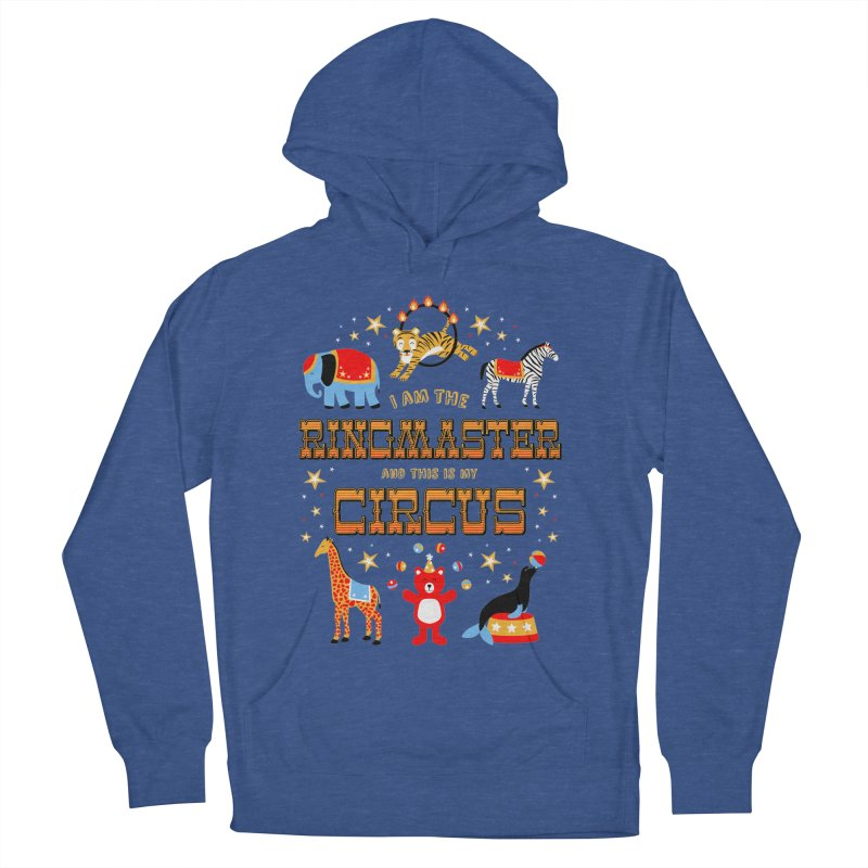 Ringmaster of the Circus Men's Pullover Hoody by Robyriker Designs - Elishka Jepson
