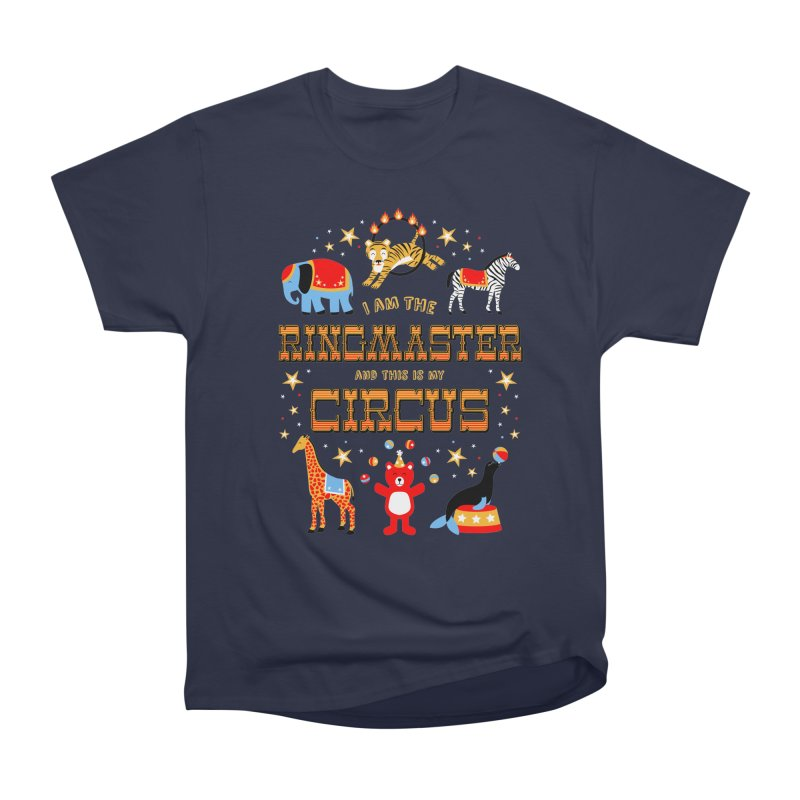 Ringmaster of the Circus Men's Classic T-Shirt by Robyriker Designs - Elishka Jepson