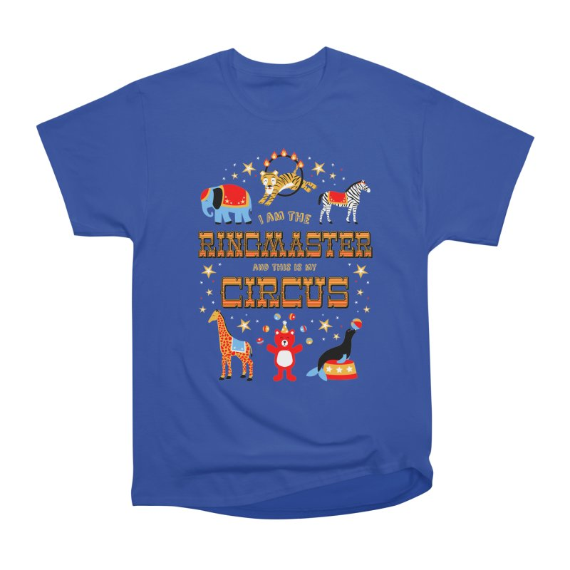 Ringmaster of the Circus Men's Heavyweight T-Shirt by Robyriker Designs - Elishka Jepson