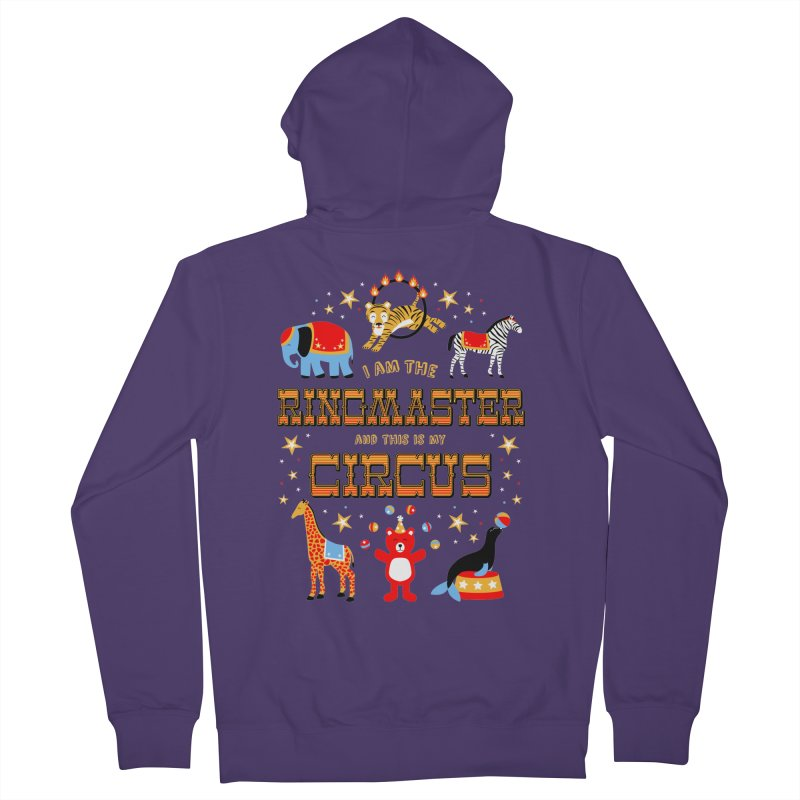 Ringmaster of the Circus Women's Zip-Up Hoody by Robyriker Designs - Elishka Jepson