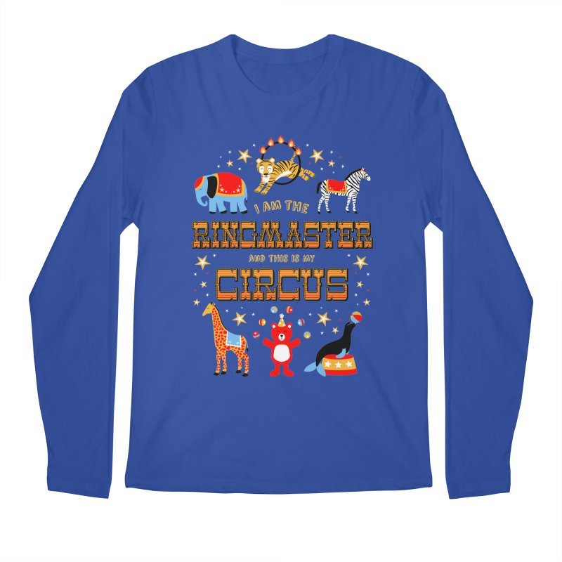Ringmaster of the Circus Men's Longsleeve T-Shirt by Robyriker Designs - Elishka Jepson