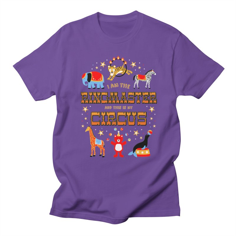 Ringmaster of the Circus Women's Unisex T-Shirt by Robyriker Designs - Elishka Jepson
