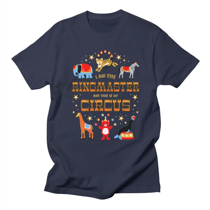 Ringmaster of the Circus Men's T-Shirt by Robyriker Designs - Elishka Jepson