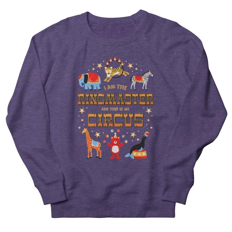 Ringmaster of the Circus Men's Sweatshirt by Robyriker Designs - Elishka Jepson