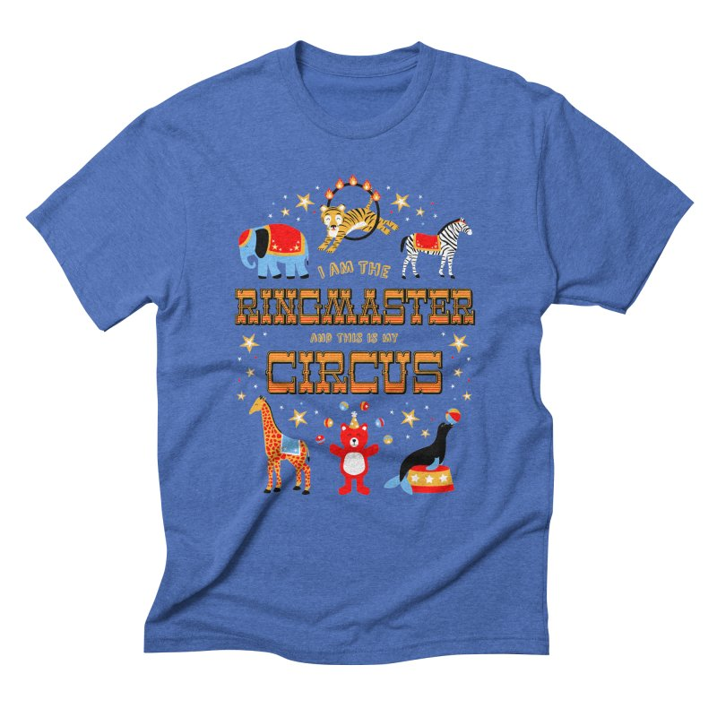 Ringmaster of the Circus Men's Triblend T-Shirt by Robyriker Designs - Elishka Jepson