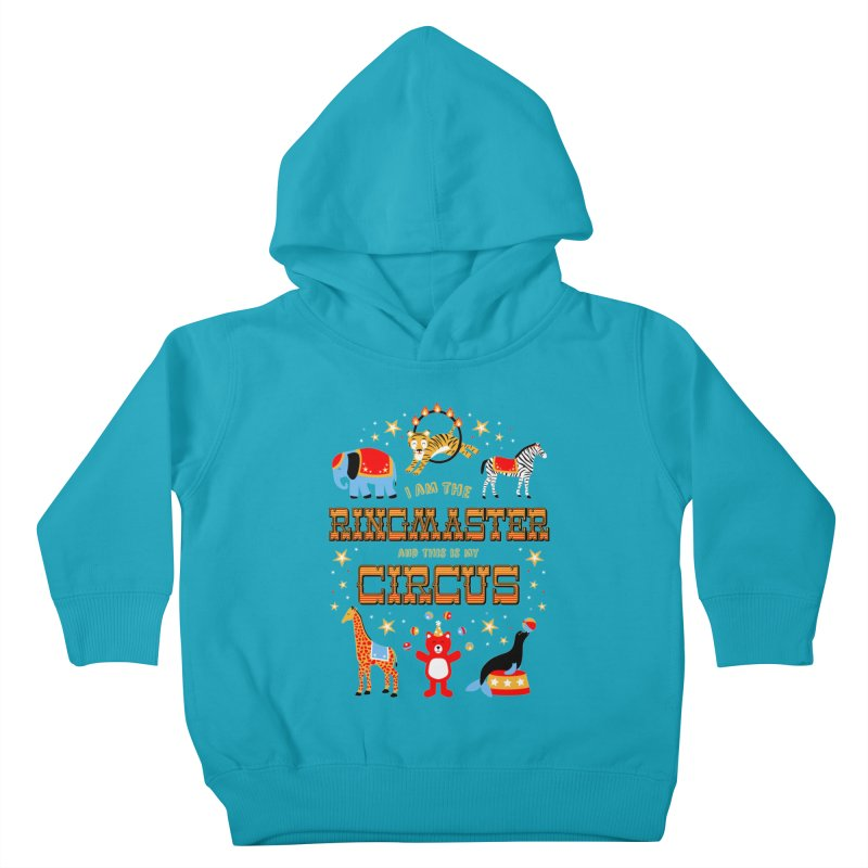 Ringmaster of the Circus Kids Toddler Pullover Hoody by Robyriker Designs - Elishka Jepson
