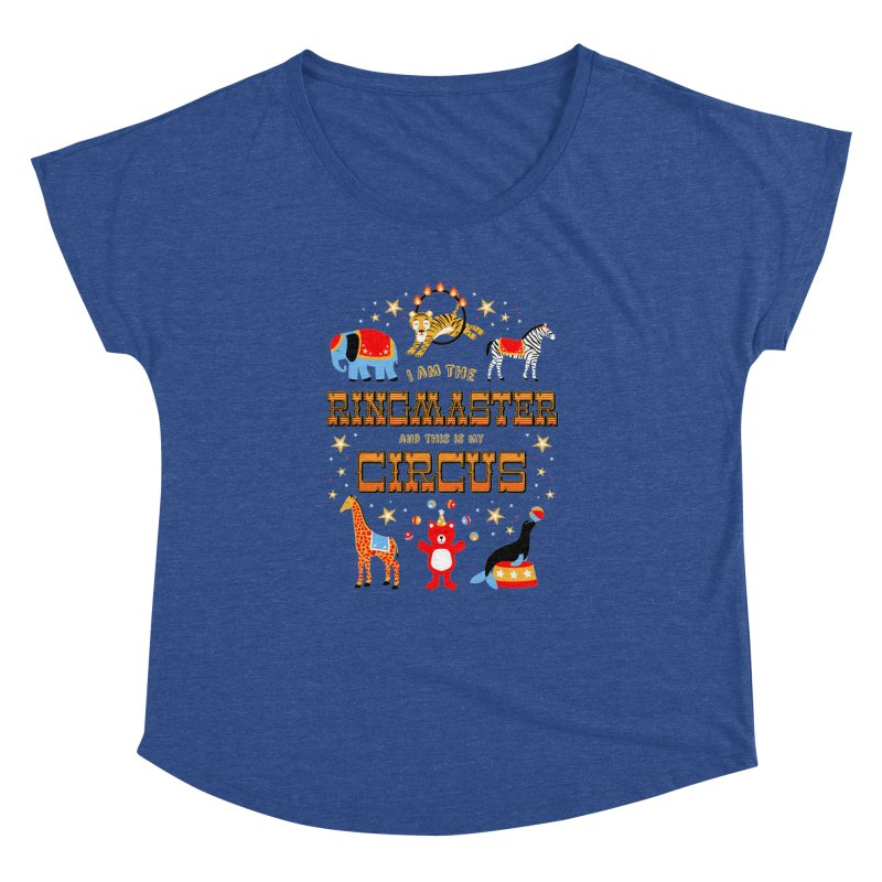 Ringmaster of the Circus Women's Dolman by Robyriker Designs - Elishka Jepson