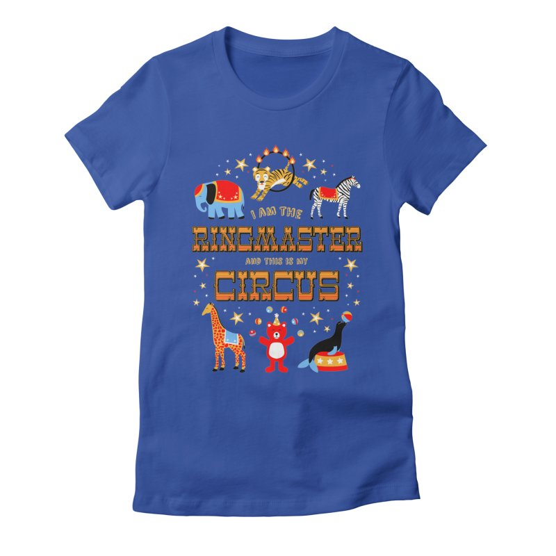 Ringmaster of the Circus Women's Fitted T-Shirt by Robyriker Designs - Elishka Jepson