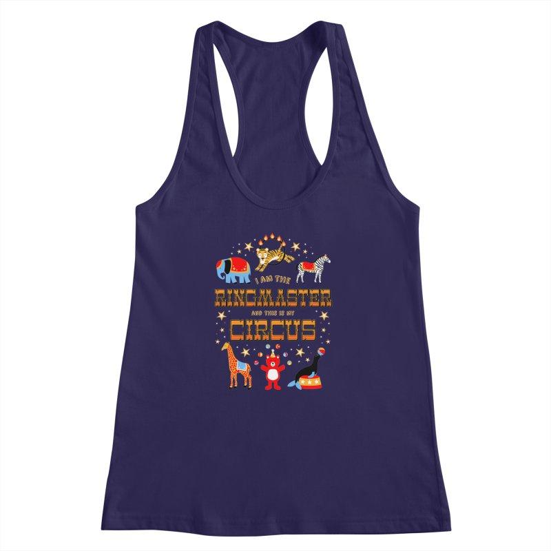 Ringmaster of the Circus Women's Racerback Tank by Robyriker Designs - Elishka Jepson