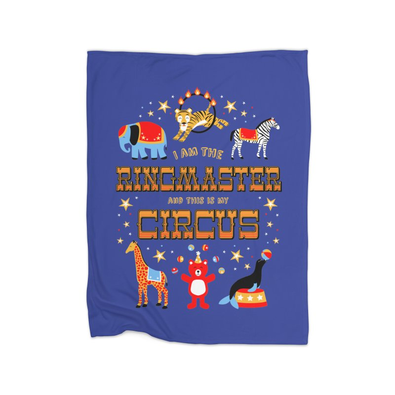 Ringmaster of the Circus Home Blanket by Robyriker Designs - Elishka Jepson
