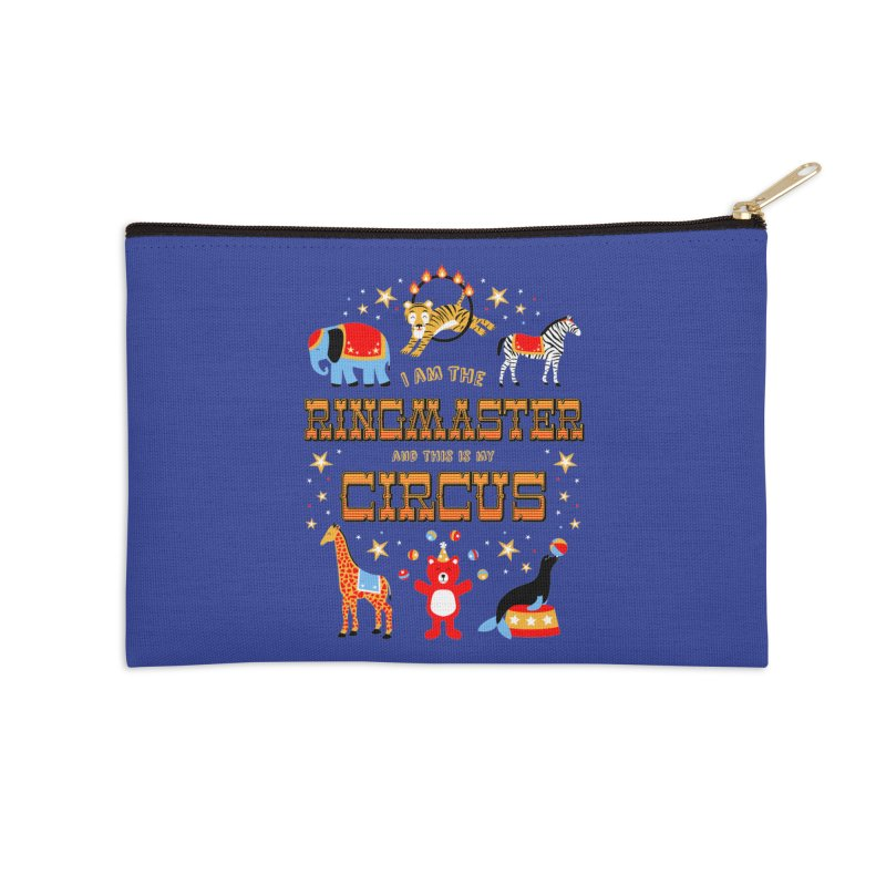 Ringmaster of the Circus Accessories Zip Pouch by Robyriker Designs - Elishka Jepson