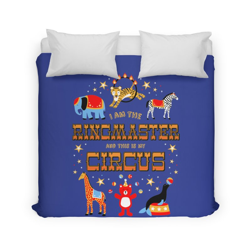 Ringmaster of the Circus Home Duvet by Robyriker Designs - Elishka Jepson