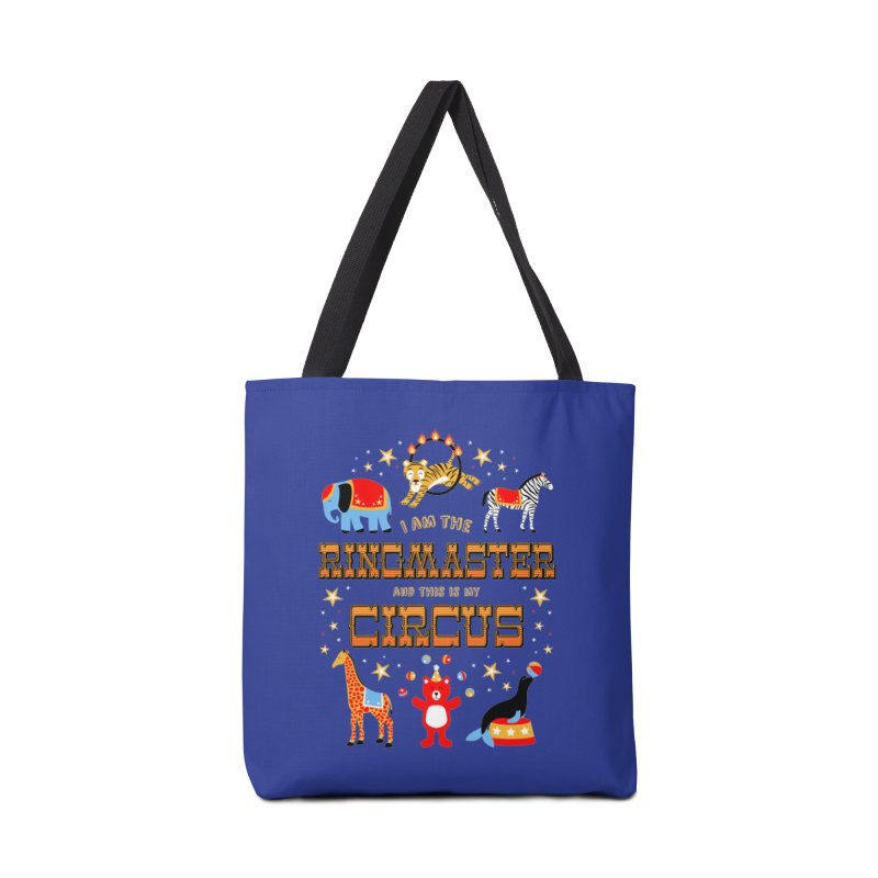 Ringmaster of the Circus Accessories Bag by Robyriker Designs - Elishka Jepson