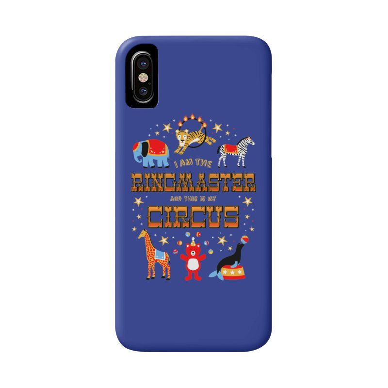 Ringmaster of the Circus Accessories Phone Case by Robyriker Designs - Elishka Jepson