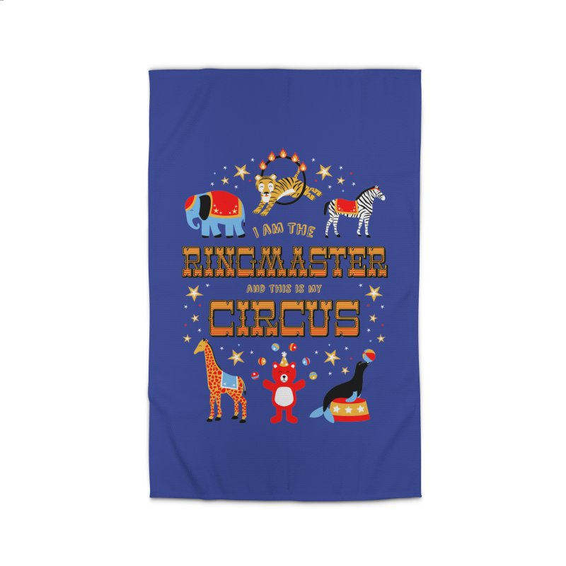Ringmaster of the Circus Home Rug by Robyriker Designs - Elishka Jepson