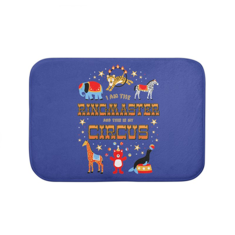 Ringmaster of the Circus Home Bath Mat by Robyriker Designs - Elishka Jepson
