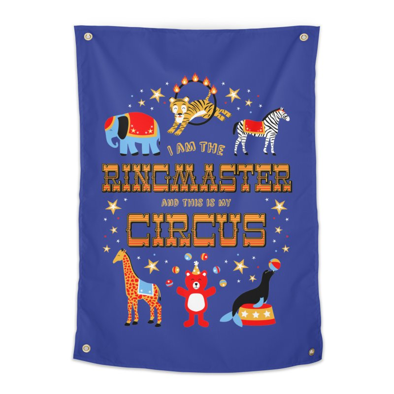 Ringmaster of the Circus Home Tapestry by Robyriker Designs - Elishka Jepson