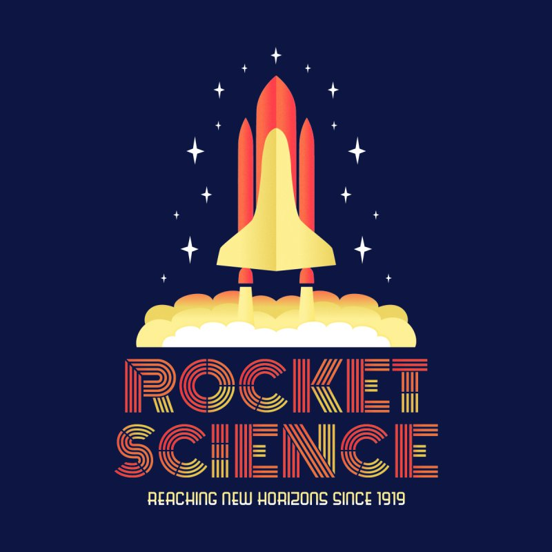 Rocket Science Home Fine Art Print by Robyriker Designs - Elishka Jepson