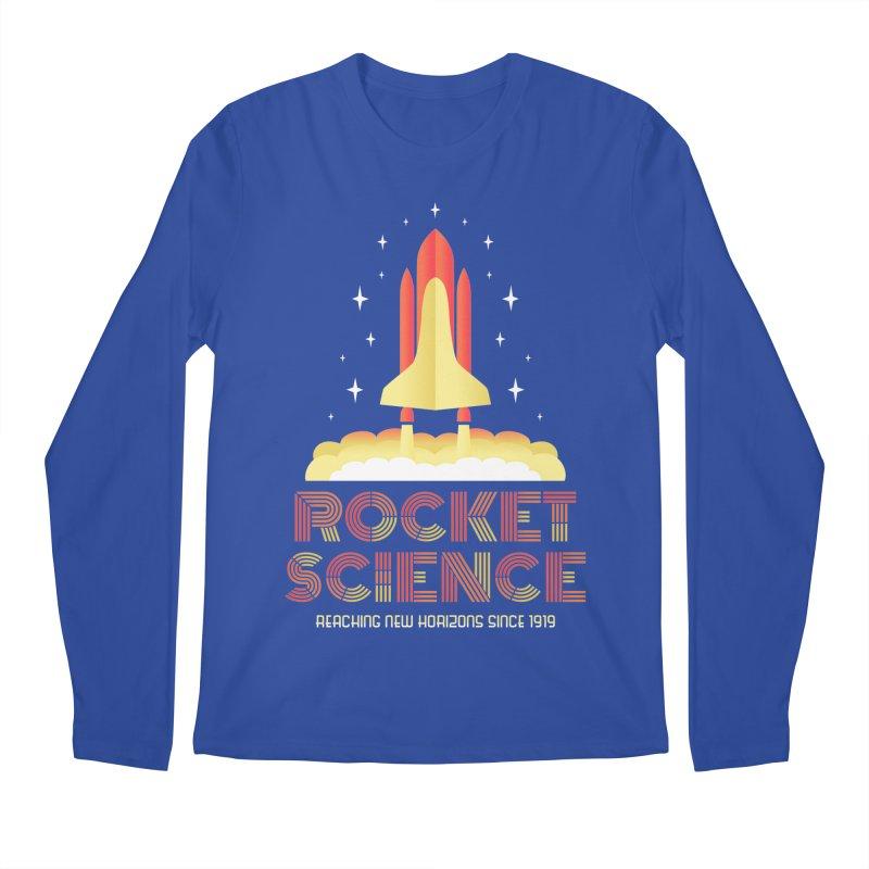 Rocket Science Men's Longsleeve T-Shirt by Robyriker Designs - Elishka Jepson