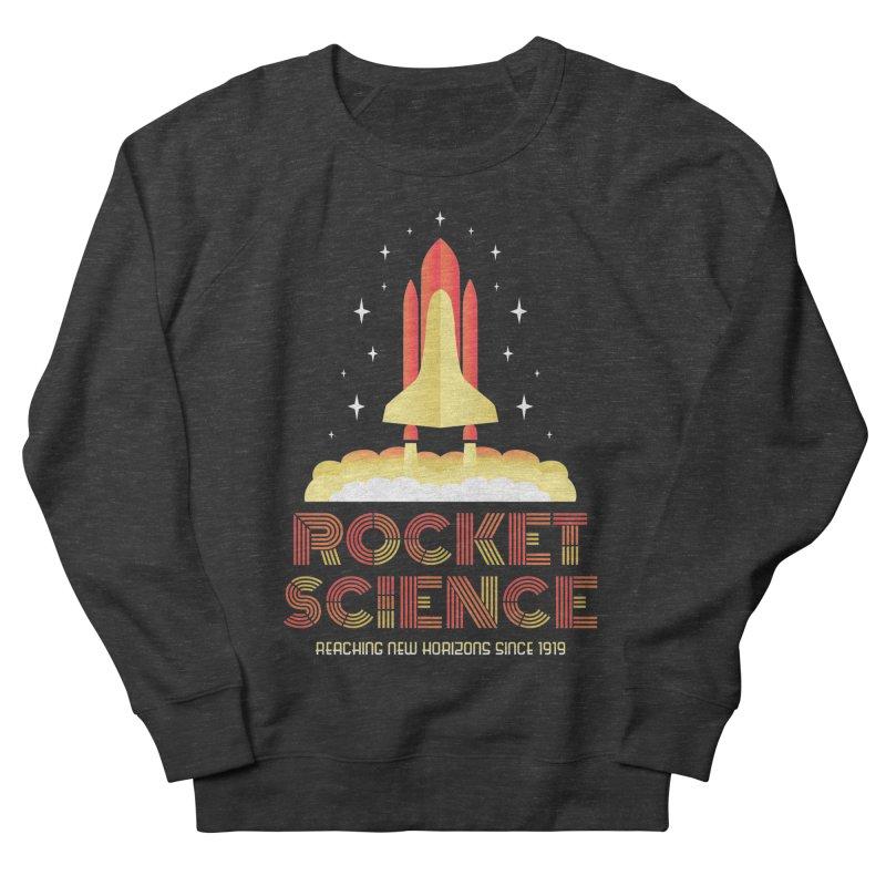 Rocket Science Men's Sweatshirt by Robyriker Designs - Elishka Jepson
