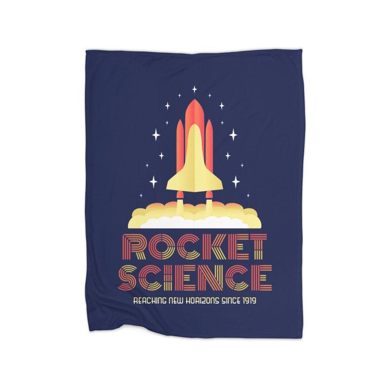 Rocket Science Home Blanket by Robyriker Designs - Elishka Jepson