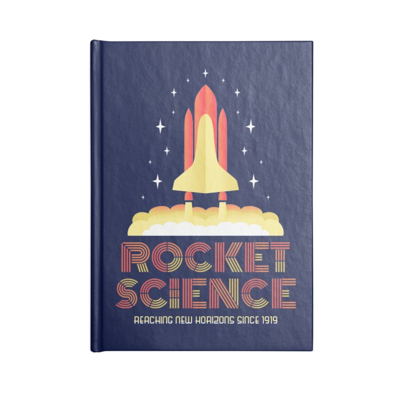 Rocket Science Accessories Notebook by Robyriker Designs - Elishka Jepson