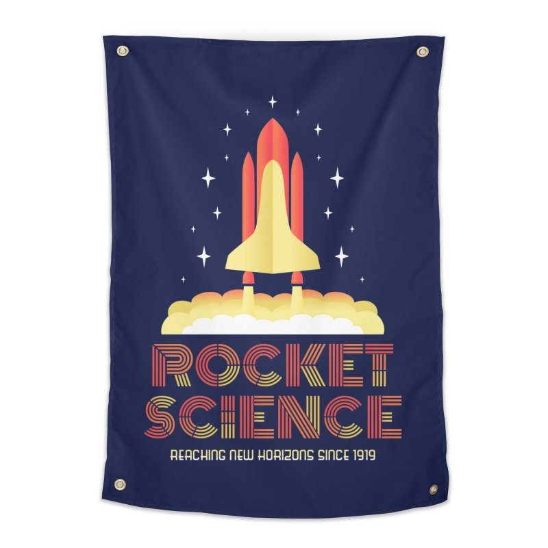 Rocket Science Home Tapestry by Robyriker Designs - Elishka Jepson