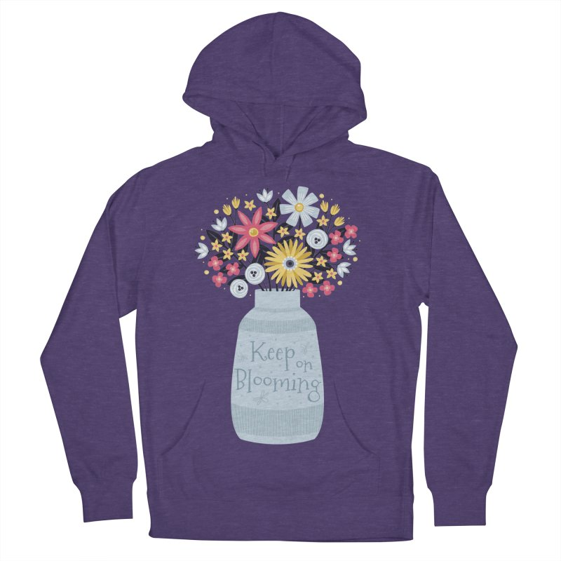 Keep on Blooming Women's Pullover Hoody by Robyriker Designs - Elishka Jepson