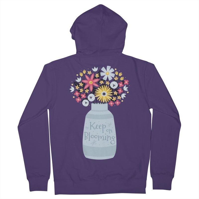 Keep on Blooming Women's Zip-Up Hoody by Robyriker Designs - Elishka Jepson