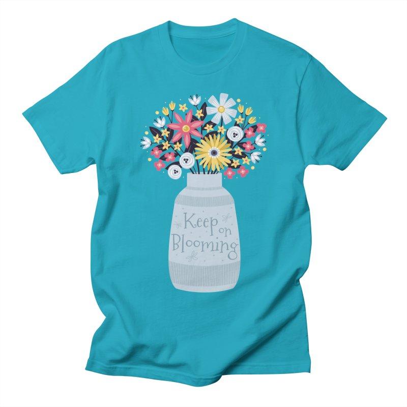 Keep on Blooming Women's Unisex T-Shirt by Robyriker Designs - Elishka Jepson