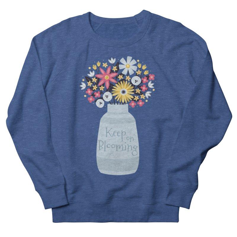 Keep on Blooming Men's Sweatshirt by Robyriker Designs - Elishka Jepson