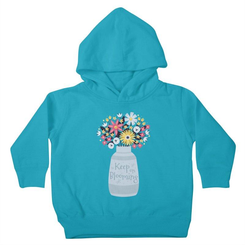 Keep on Blooming Kids Toddler Pullover Hoody by Robyriker Designs - Elishka Jepson