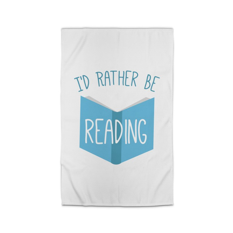 I'd Rather Be Reading Home Rug by Robyriker Designs - Elishka Jepson