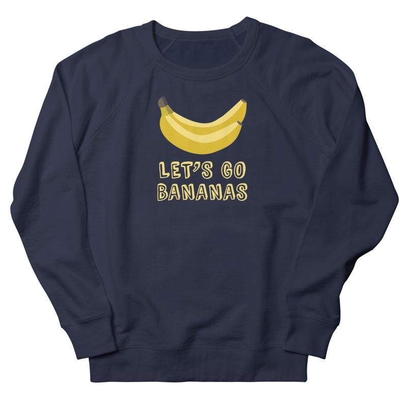 Let's Go Bananas Men's Sweatshirt by Robyriker Designs - Elishka Jepson