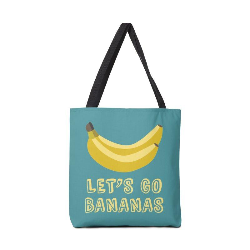 Let's Go Bananas Accessories Bag by Robyriker Designs - Elishka Jepson