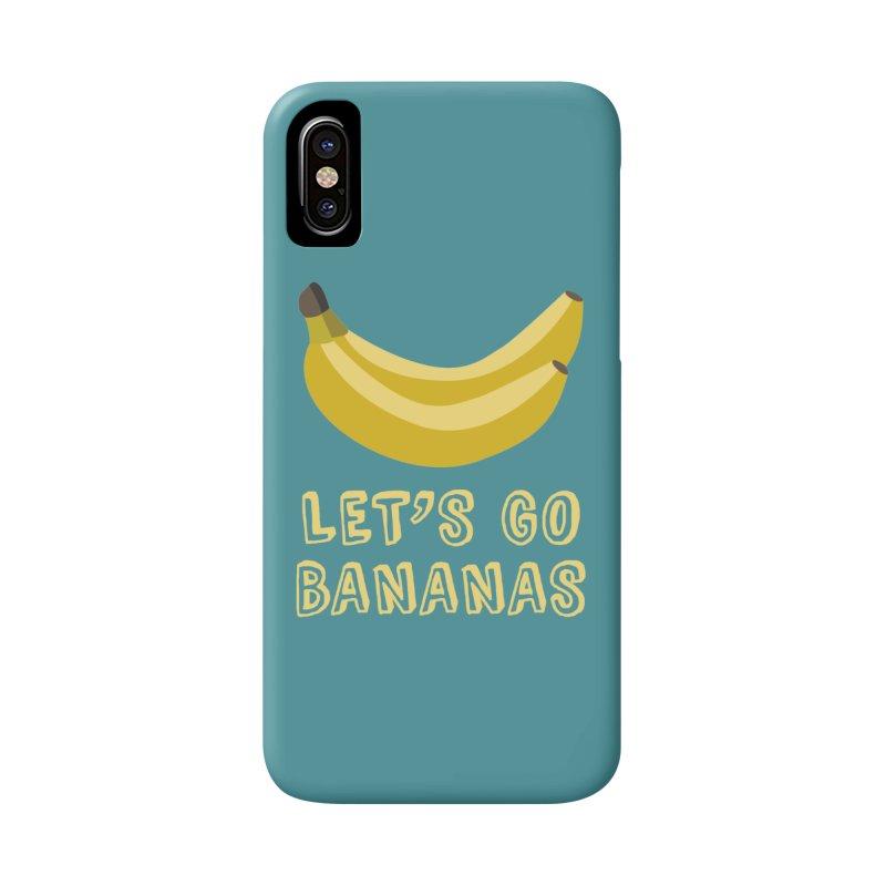 Let's Go Bananas Accessories Phone Case by Robyriker Designs - Elishka Jepson