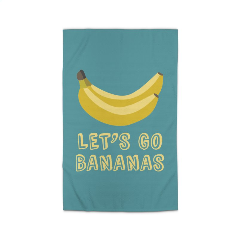 Let's Go Bananas Home Rug by Robyriker Designs - Elishka Jepson