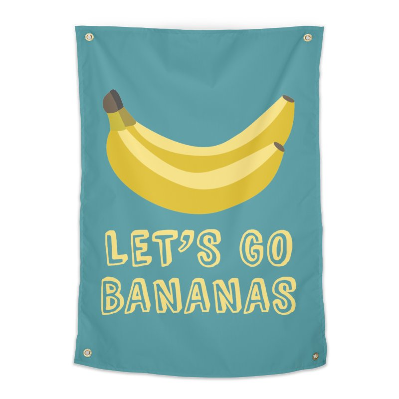 Let's Go Bananas Home Tapestry by Robyriker Designs - Elishka Jepson