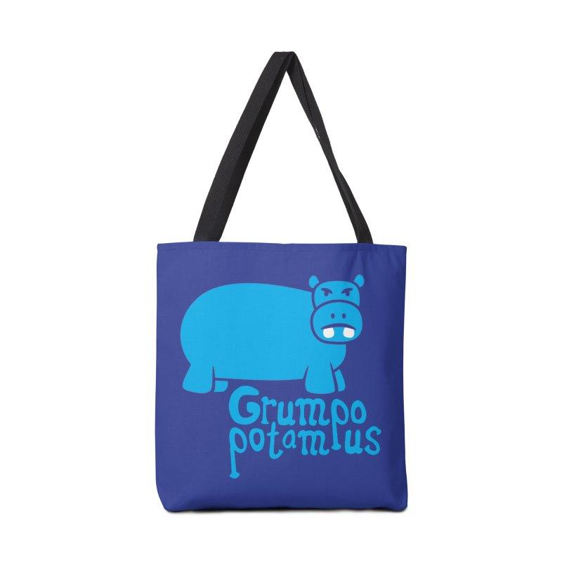 Grumpopotamus Accessories Bag by Robyriker Designs - Elishka Jepson