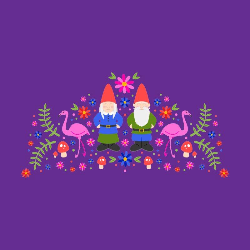 Gnome Garden Home Fine Art Print by Robyriker Designs - Elishka Jepson