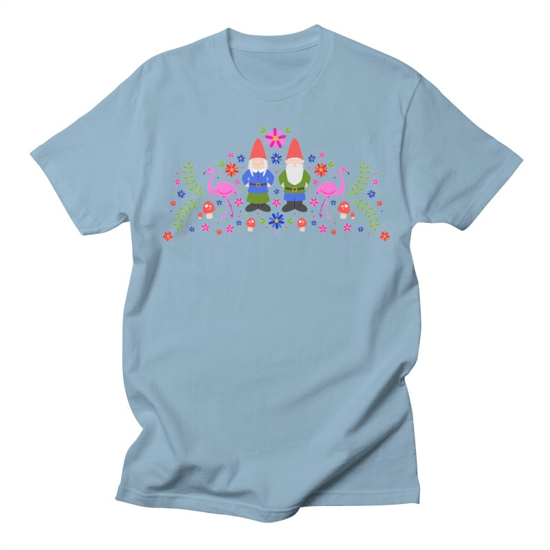 Gnome Garden Men's T-Shirt by Robyriker Designs - Elishka Jepson