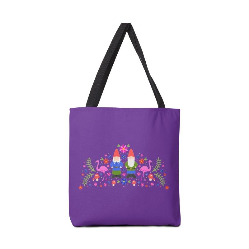 Gnome Garden Accessories Bag by Robyriker Designs - Elishka Jepson