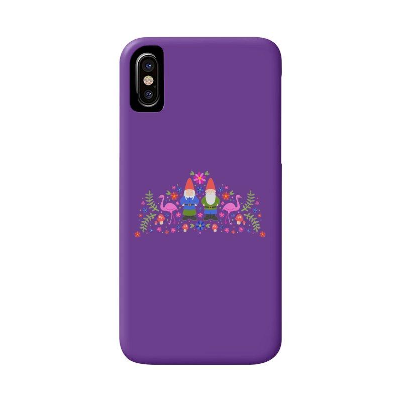 Gnome Garden Accessories Phone Case by Robyriker Designs - Elishka Jepson