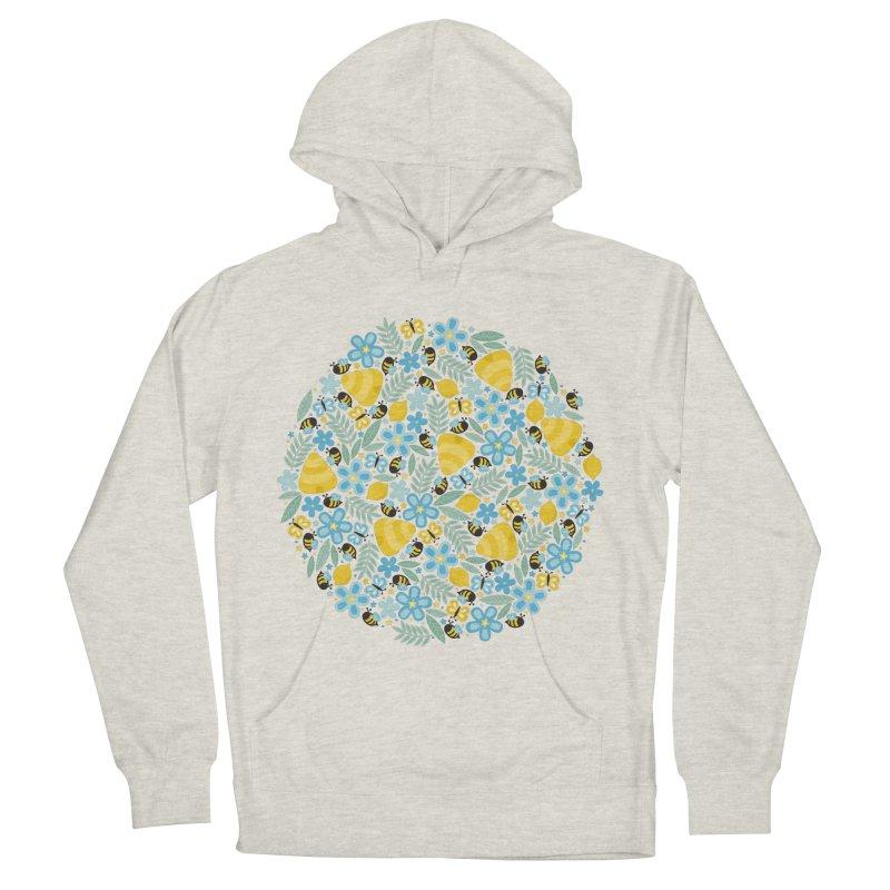 Busy Little Honeybees Men's Pullover Hoody by Robyriker Designs - Elishka Jepson